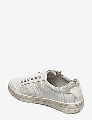 Tamaris - Woms Lace-up - sneakers med lav ankel - white comb - 2