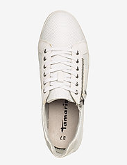Tamaris - Woms Lace-up - sneakers med lav ankel - white comb - 3