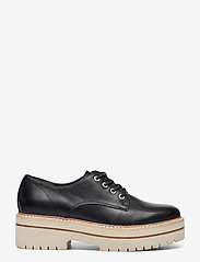 Woms Lace-up - BLACK LEATHER