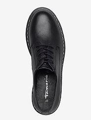 Tamaris - Woms Lace-up - schnürschuhe - black leather - 3