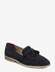 Tamaris - Woms Slip-on - loaferit - navy suede - 0