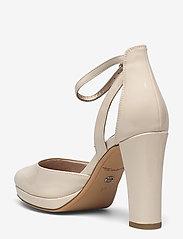 Tamaris - Woms Slip-on - klasiski augstpapēžu apavi - nude patent - 2
