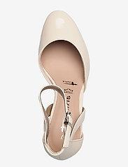 Tamaris - Woms Slip-on - klasiski augstpapēžu apavi - nude patent - 3