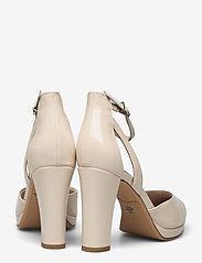 Tamaris - Woms Slip-on - klasiski augstpapēžu apavi - nude patent - 4