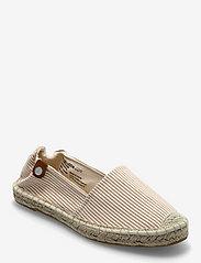 Tamaris - Woms Slip-on - platta espadriller - sand stripes - 0