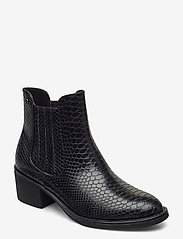 Woms Boots - BLACK SNAKE
