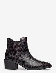 Tamaris - Woms Boots - augstpapēžu puszābaki - mahogany snake - 1