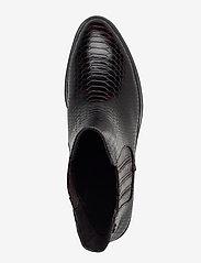 Tamaris - Woms Boots - augstpapēžu puszābaki - mahogany snake - 3
