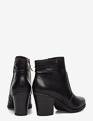 Tamaris - Boots - ankelstøvler med hæl - black - 4