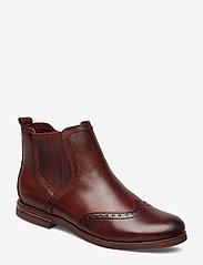 Tamaris - Woms Boots - chelsea boots - chestnut comb - 0