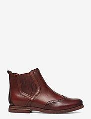 Tamaris - Woms Boots - chelsea boots - chestnut comb - 1