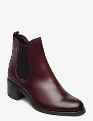 Tamaris - Woms Boots - enkellaarsjes met hak - cafe - 0