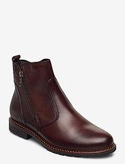 Tamaris - Woms Boots - platte enkellaarsjes - muscat - 0
