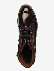 Tamaris - Woms Boots - talon bas - maroon pat. - 3