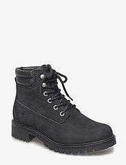 Tamaris - Woms Boots - talon bas - black uni - 0