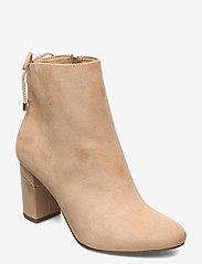 Tamaris - Woms Boots - enkellaarsjes met hak - almond - 0