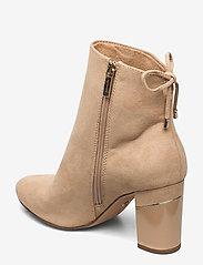 Tamaris - Woms Boots - enkellaarsjes met hak - almond - 2