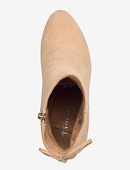 Tamaris - Woms Boots - enkellaarsjes met hak - almond - 3