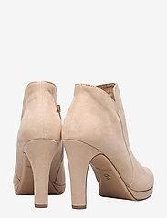 Tamaris - Woms Boots - enkellaarsjes met hak - almond - 4
