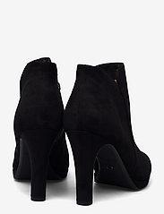 Tamaris - Woms Boots - augstpapēžu puszābaki - black - 4