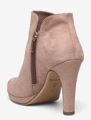 Tamaris - Woms Boots - Lycoris - augstpapēžu puszābaki - old rose - 2