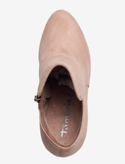 Tamaris - Woms Boots - Lycoris - augstpapēžu puszābaki - old rose - 3