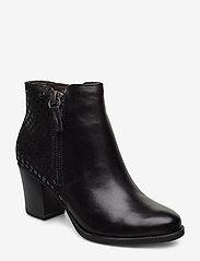 Tamaris - Boots - ankelstøvler med hæl - black - 0