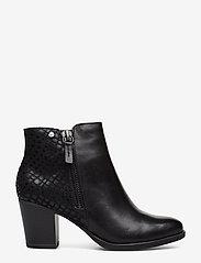 Tamaris - Boots - enkellaarsjes met hak - black - 1