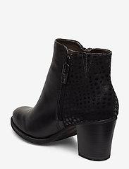 Tamaris - Boots - enkellaarsjes met hak - black - 2