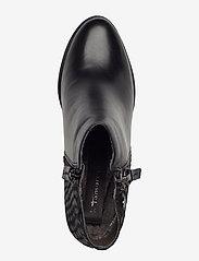Tamaris - Boots - ankelstøvler med hæl - black - 3