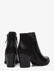 Tamaris - Boots - enkellaarsjes met hak - black - 4