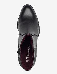 Tamaris - Woms Boots - enkellaarsjes met hak - black - 3