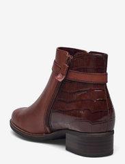 Tamaris - Woms Boots - Marly - puszābaki bez papēža - chestnut comb - 2