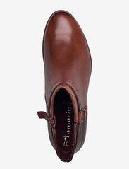 Tamaris - Woms Boots - Marly - puszābaki bez papēža - chestnut comb - 3