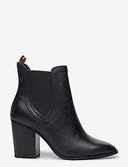 Tamaris - Woms Boots - enkellaarsjes met hak - black leather - 1