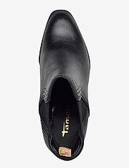 Tamaris - Woms Boots - enkellaarsjes met hak - black leather - 3