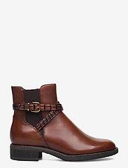 Tamaris - Woms Boots - platte enkellaarsjes - brandy - 1