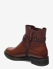 Tamaris - Woms Boots - platte enkellaarsjes - brandy - 2