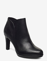 Tamaris - Woms Boots - enkellaarsjes met hak - black uni - 0