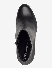 Tamaris - Woms Boots - enkellaarsjes met hak - black uni - 3