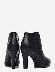 Tamaris - Woms Boots - enkellaarsjes met hak - black uni - 4