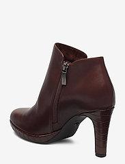 Tamaris - Woms Boots - enkellaarsjes met hak - maroon/croco - 2