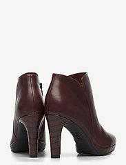 Tamaris - Woms Boots - enkellaarsjes met hak - maroon/croco - 4