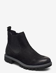 Tamaris - Woms Boots - chelsea boots - black uni - 0