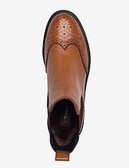 Tamaris - Woms Boots - chelsea boots - cognac leather - 3