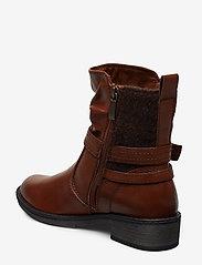 Tamaris - Boots - flate ankelstøvletter - cognac - 2