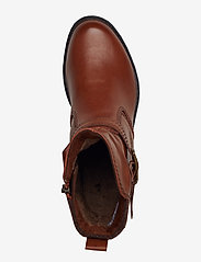 Tamaris - Boots - platta ankelboots - cognac - 3