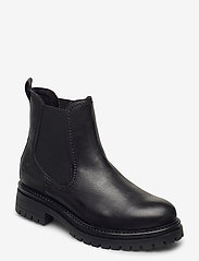 Tamaris - Woms Boots - chelsea boots - black leather - 0