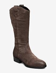 Tamaris - Woms Boots - lange laarzen - taupe - 0