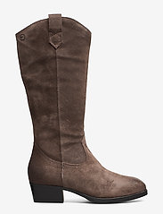 Tamaris - Woms Boots - lange laarzen - taupe - 1